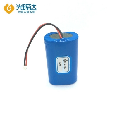 7.4V 1800mAh 串联18650锂电池组 数码产品通用