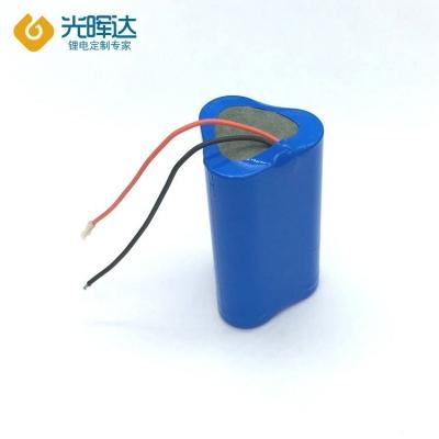 3.7V 6000mAh并联18650锂电池组通用